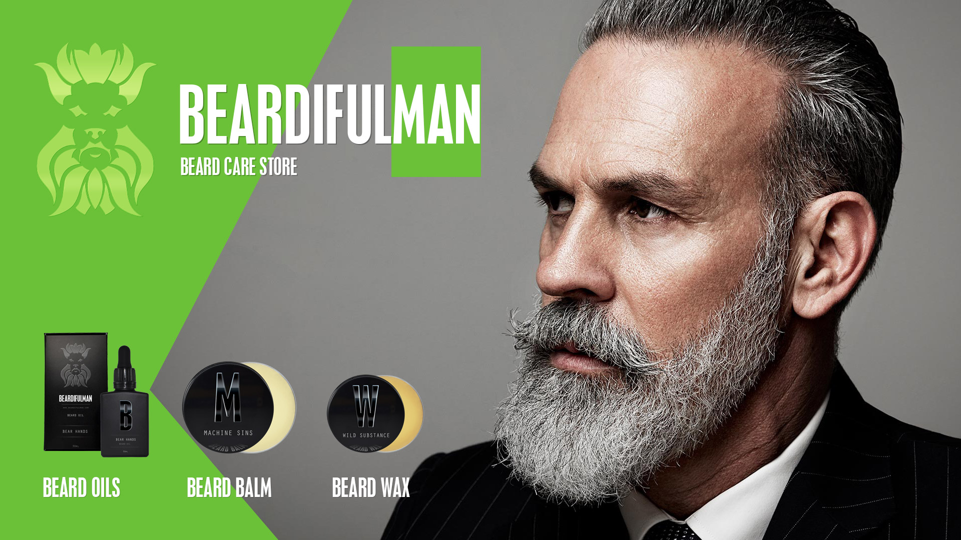 BEARDIFULMAN · Beard Oil, Balms, Wax & Beard Care Products Store