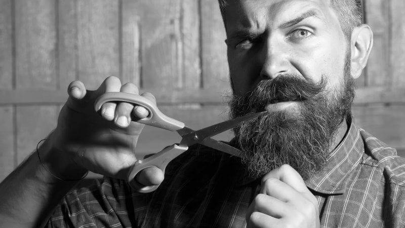 Don't cut your beard. Use Beardifulman beard oils instead!