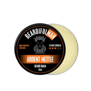 Ardent Mettle premium quality beard balm from Beardifulman