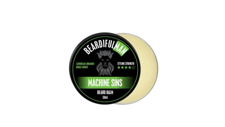 Machine Sins premium quality beard balm from Beardifulman