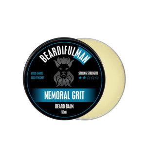Nemoral Grit premium quality beard balm from Beardifulman
