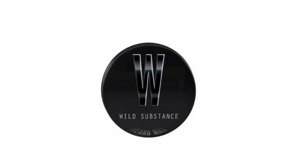 Single 30ml tin of Wild Substance premium quality beard wax from Beardifulman