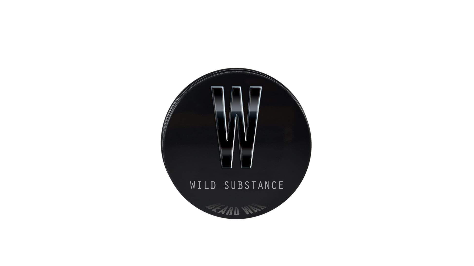 Single 30ml tin of Wild Substance premium quality beard wax from Beardifulman
