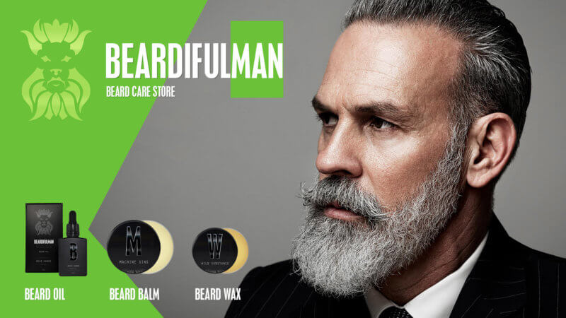 Beardifulman beard care products store for Beardiful Men