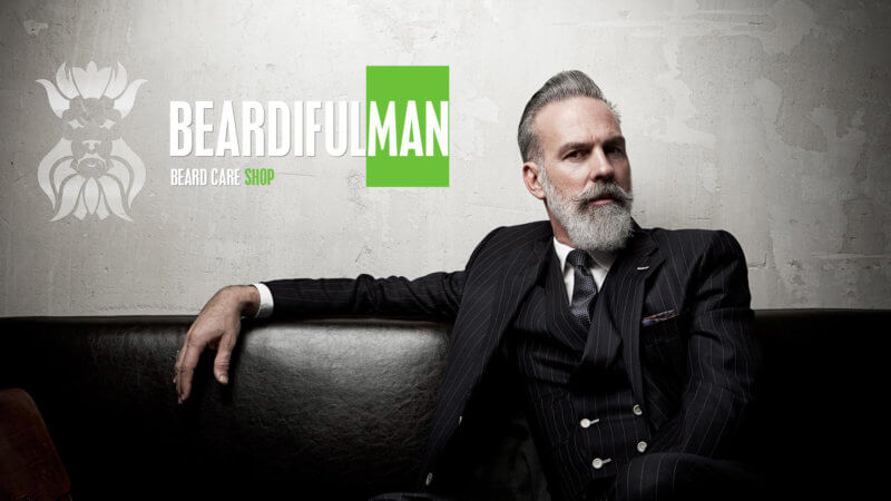 Beardifulman beard care products store for Beardiful Men!