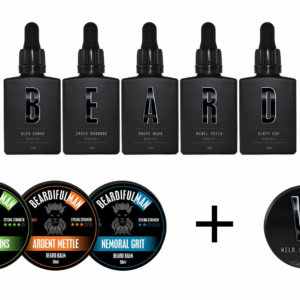 Geeks & Villains beard care package combo deal!!