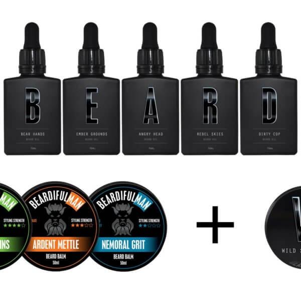 Geeks & Villains beard care package combo deal!!