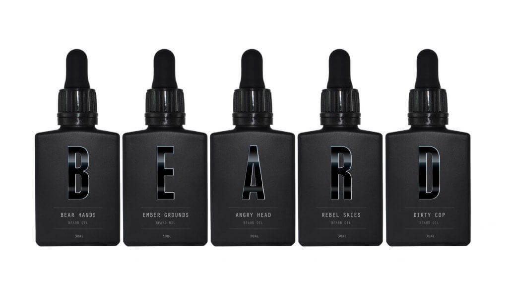 Get all five beard oils as part of the mega cheap Geeks & Villians Package deal!