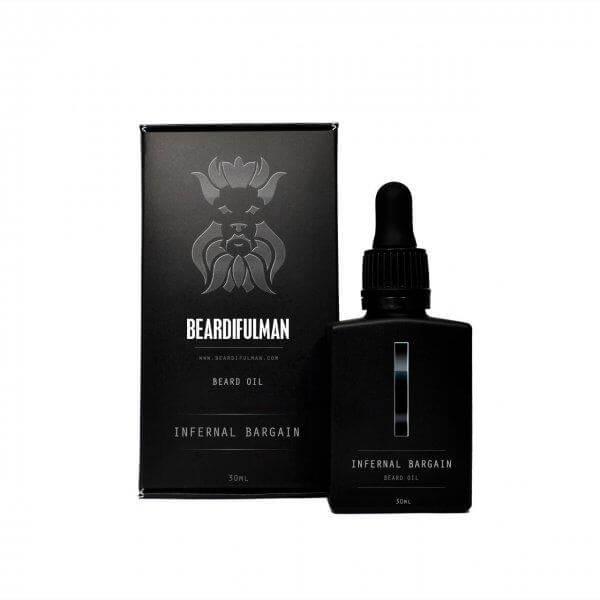 Infernal Bargain Beard Oil - Premium beard care oil from Beardifulman