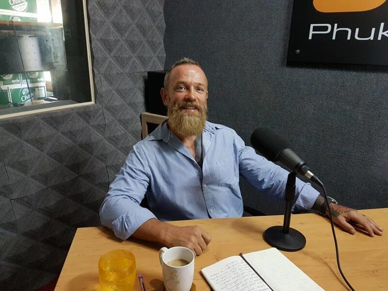 Mac McCulloch Ceo Of Unit 27 strength & conditioning gym Phuket Thailand
