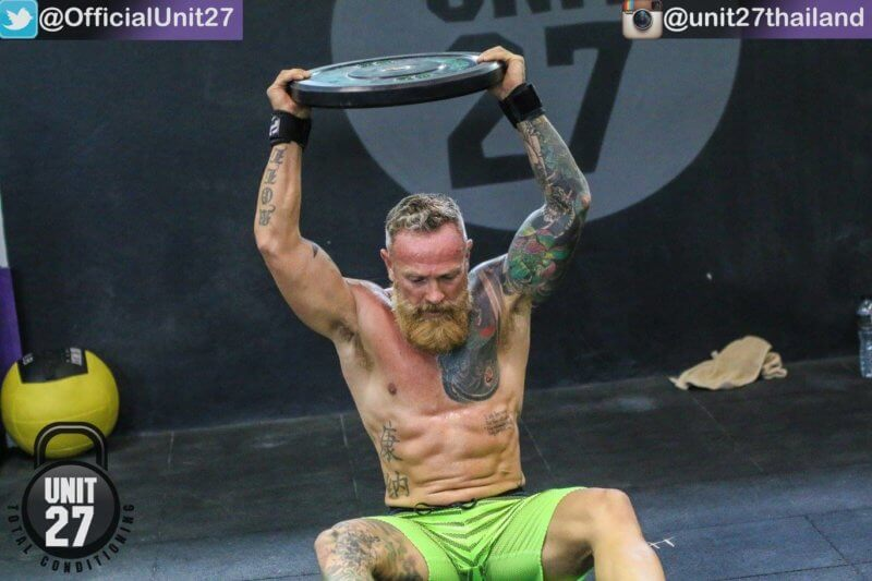 Mac at Unit 27 CrossFit Phuket