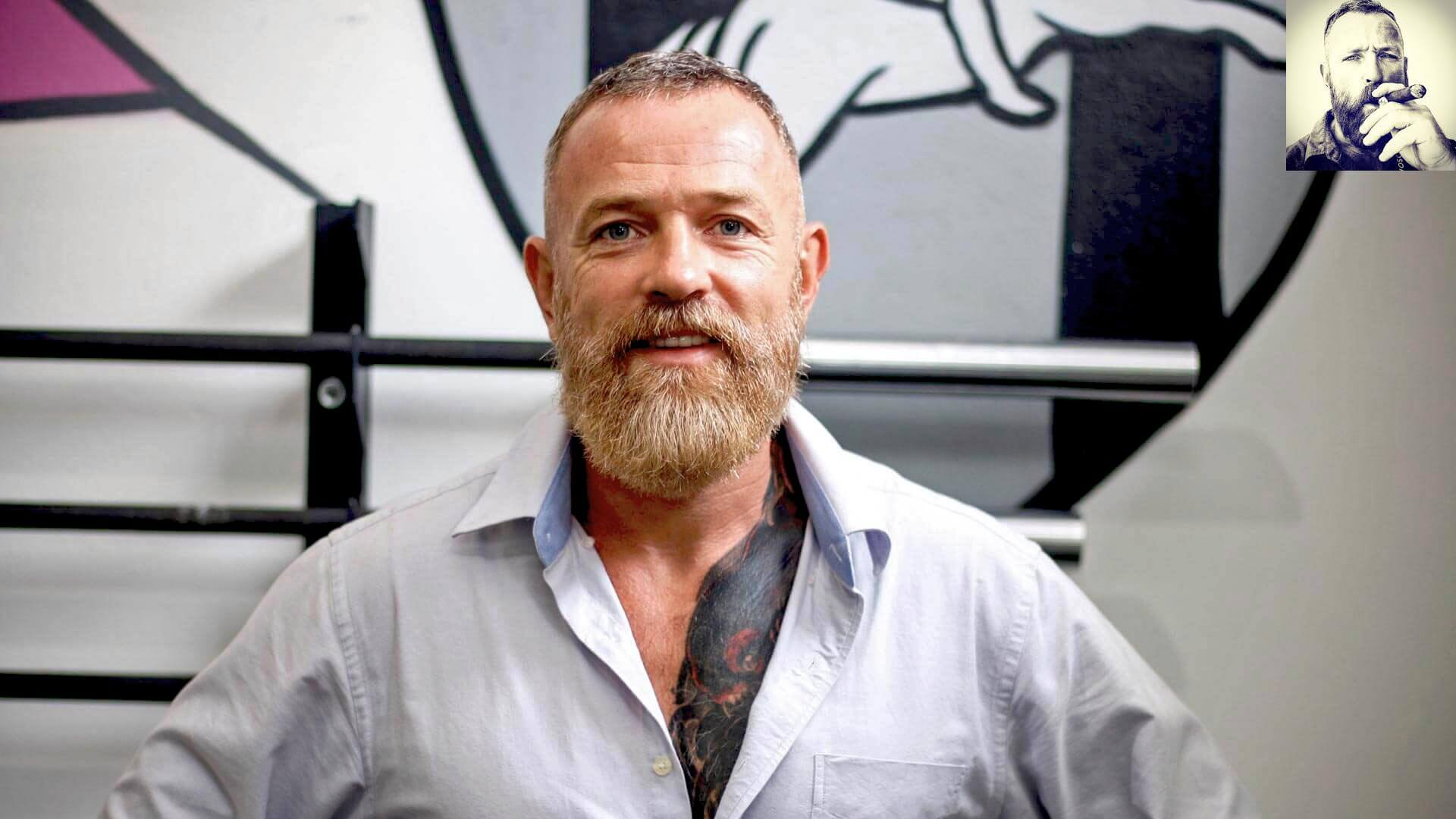 Mac McCulloch - CEO of Unit 27 Fitness GroupNow here is a true Beardiful Basterd, a self confessed beard nerd and exercise junky, Mac was one of Beardifulman's first customers and has been a stu